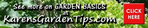 Garden basics pointer