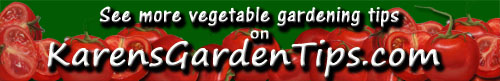 Vegetable Gardening pointer