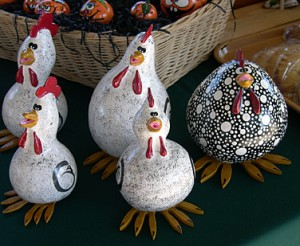 a painted gourds