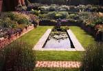 sunken garden pool