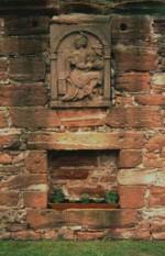 wall niche plaque