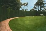 circular croquet lawn