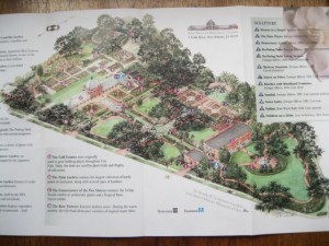 A Map Of The Garden, Available At The Ticket Booth, Shows That Garden Rooms  Were Laid Out Along An Axis And Include A Japanese Garden, Rose Garden, ...