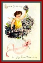 violet wreath