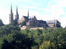 Bamberg rose garden St. Michaels monastery