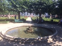 Bamberg rose garden pool n fountain