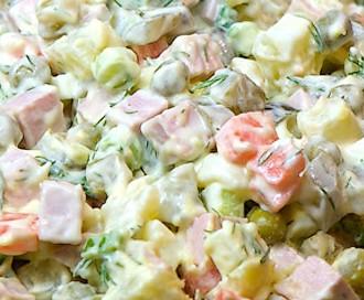 Olivier salad Russian NY