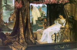 cleopatra-with-roses