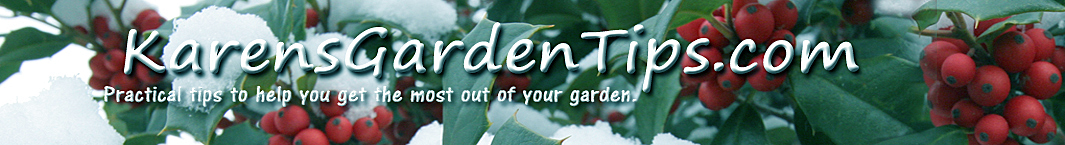KarensGardenTips.com header image